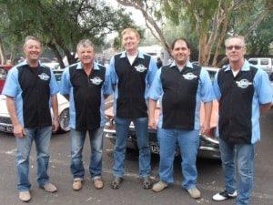 Car club, staff shirts