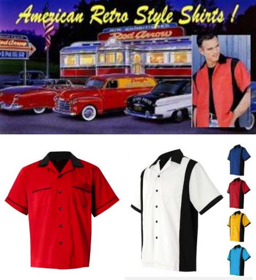 American Bowling shirts collection